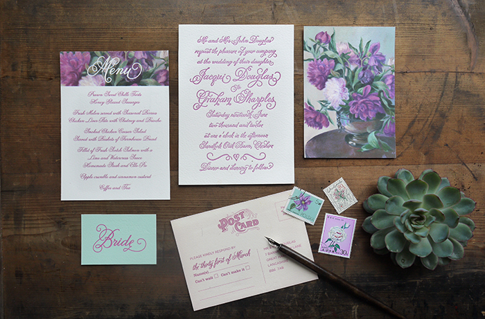 Letterpress-wedding-stationery