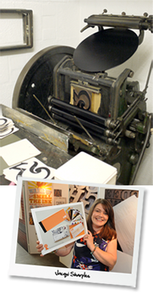 Design and Letterpress, Jacqui Sharples